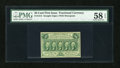 Fr. 1312 50c First Issue PMG Choice About Unc 58 EPQ