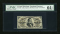 Fractional Currency:Third Issue, Fr. 1292 25c Third Issue PMG Choice Uncirculated 64 EPQ....