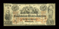 Confederate Notes:1861 Issues, T31 $5 1861 PF-1, Cr. 244.. ...