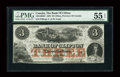 Canadian Currency: , Clifton, PC- The Bank of Clifton $3 Oct. 1, 1859 Ch. # 125-10-04-04. ...