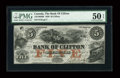 Canadian Currency: , Clifton, PC- The Bank of Clifton $5 Oct. 1, 1859 Ch. # 125-10-04-06. ...
