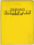 Magazines:Humor, National Lampoon 1972 Binder Set (NL Communications, 1972)....