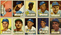 Baseball Cards:Sets, 1952 Topps baseball Low-Series Partial Run (238/310)....