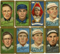 """Baseball Cards:Lots, 911 T205 Gold Borders Group of (8) - All """"Sovereign"""" Brand Backs...."""