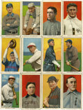 """Baseball Cards:Lots, 1909-11 T206 White Border Tobacco Group of (12) - All """"Sovereign""""Brand Backs...."""