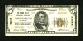 National Bank Notes:Colorado, Fort Collins, CO - $5 1929 Ty. 2 The Poudre Valley NB Ch. # 7837....