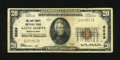 National Bank Notes:Pennsylvania, Saints Marys, PA - $20 1929 Ty. 1 The Saint Marys NB Ch. # 6589....
