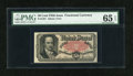 Fractional Currency:Fifth Issue, Fr. 1381 50c Fifth Issue PMG Gem Uncirculated 65 EPQ....