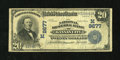 National Bank Notes:Missouri, Kansas City, MO - $20 1902 Date Back Fr. 645 The National ReserveBank Ch. # (M)9677. ...