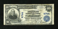 National Bank Notes:Wisconsin, Wausau, WI - $10 1902 Plain Back Fr. 632 The American NB Ch. # 4744. ...