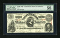 Confederate Notes:1863 Issues, T56 $100 1863 PF-2, Cr. 404.. ...
