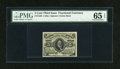 Fractional Currency:Third Issue, Fr. 1238 5c Third Issue PMG Gem Uncirculated 65 EPQ....