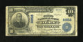 National Bank Notes:Pennsylvania, Oley, PA - $10 1902 Plain Back Fr. 626 The First NB Ch. # 8858. ...