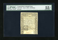 Colonial Notes:Connecticut, Connecticut June 1, 1780 20s PMG About Uncirculated 55 Net....