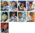 Autographs:Sports Cards, Baseball Hall of Famers Signed Trading Cards Group Lot of 17....
