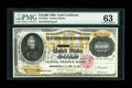 Large Size:Gold Certificates, Fr. 1225 $10000 1900 Gold Certificate PMG Choice Uncirculated63....
