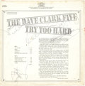Music Memorabilia:Autographs and Signed Items, Dave Clark Five Band-Signed Copy of Try Too Hard....