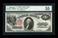 Fr. 35 $1 1880 Legal Tender PMG About Uncirculated 55