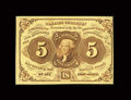 Fractional Currency:First Issue, Fr. 1231 5c First Issue Choice New....
