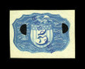 Fractional Currency:Second Issue, Milton 2E5R.2c Negative Essay 5c in Blue Superb Gem New....