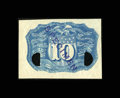 Fractional Currency:Second Issue, 10¢ Second Issue Negative Essay Very Choice New....