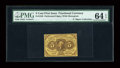 Fractional Currency:First Issue, Fr. 1228(a?) 5c First Issue PMG Choice Uncirculated 64 EPQ....