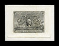 Fractional Currency:Second Issue, Milton 2S10F.1d 10¢ Second Issue Plate Proof Gem New. . ...