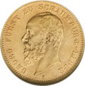 German States:Schaumburg-Lippe, German States: Schaumburg-Lippe. Georg gold 20 Mark 1904A,...