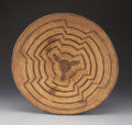 American Indian Art:Baskets, A PIMA COILED BOWL. c. 1910...