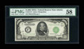 Small Size:Federal Reserve Notes, Fr. 2212-F $1000 1934A Federal Reserve Note. PMG Choice About Unc 58.. ...