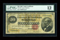 Large Size:Gold Certificates, Fr. 1178 $20 1882 Gold Certificate PMG Fine 12....