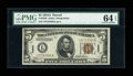 Small Size:World War II Emergency Notes, Fr. 2302 $5 1934A Hawaii Federal Reserve Note. PMG Choice Uncirculated 64 EPQ.. ...