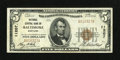 National Bank Notes:Maryland, Baltimore, MD - $5 1929 Ty. 1 National Central Bank Ch. # 11207....
