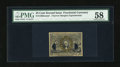 Fractional Currency:Second Issue, Fr. 1286 25c Experimental Second Issue PMG Choice About Unc 58....