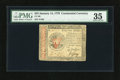 Continental Currency January 14, 1779 $55 PMG Choice Very Fine 35