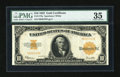 Large Size:Gold Certificates, Fr. 1173a $10 1922 Gold Certificate PMG Choice Very Fine 35....