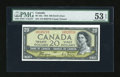 Canadian Currency: , BC-33a $20 1954.. ...