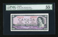 Canadian Currency: , BC-32b $10 1954.. ...