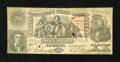 Confederate Notes:1861 Issues, T20 $20 1861 PF-5, Cr. 141.. ...