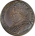 Italy, Italy: Papal States. Clement XI Piastra (Scudo) 1702....