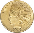 Indian Eagles, 1914-D $10 MS64 NGC....