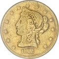 Territorial Gold, 1852 $10 Moffat & Co. Ten Dollar Fine 12 PCGS....