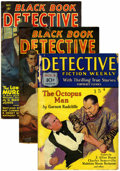 Pulps:Detective, Pulp Detective Group (Miscellaneous Publishers, 1929-53) Condition:Average GD/VG.... (Total: 17)