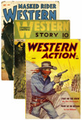 Pulps:Western, Pulp Western Group (Miscellaneous Publishers, 1940-58) Condition: Average GD/VG.... (Total: 8)