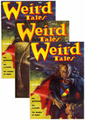 Pulps:Horror, Weird Tales Group (Popular Fiction, 1940-54) Condition: AverageGD/VG.... (Total: 15)