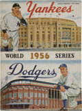 Autographs:Others, 1956 New York Yankees Signed World Series Program....