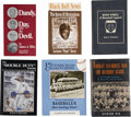Autographs:Others, Negro League Signed Book Collection (Lot of 6). ...