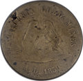 1850-Dated $20 California Gold Mines Token--Corroded--NCS. Good Details....(PCGS# 10364)