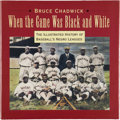 Autographs:Others, Negro League Multi Signed Book. ...