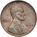 Errors, 1964-D 1C Lincoln Cent--Struck Over 1963-D Lincoln--MS64 Brown NGC....
